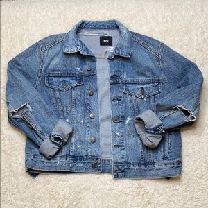 Urban Outfitters (BDG) Distressed Jean Jacket